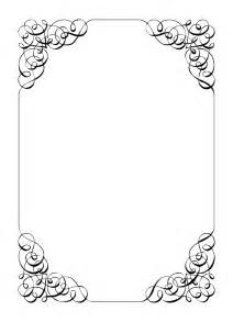 fancy border template free vintage clip images calligraphic frames and borders