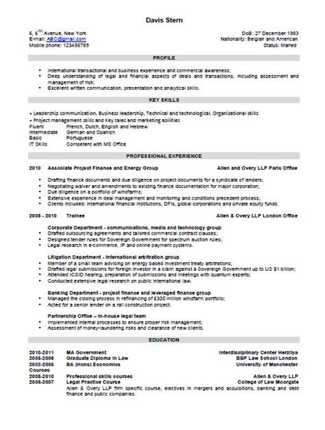 sample resume skills section 4 - Sample Resume Skills Section