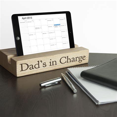 single pen holder for desk personalised single office desk tablet holder treat republic