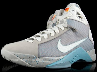 back to the future basketball shoes nike hyperdunk air mcfly 2015 back to the future