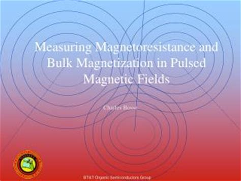 power tools for health how pulsed magnetic fields pemfs help you books ppt magnetoresistance magnetoresistance and you