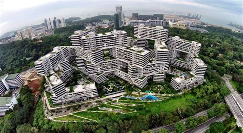 the amazing interlace housing complex in singapore quot the interlace quot a complex of 1 040 apartments in