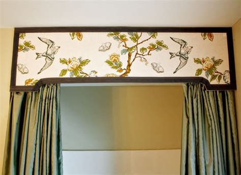 Cornice Board With Curtains Shower Curtain Cornice Window Treatments