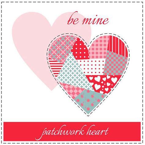 Patchwork Hearts - 30 inspiring vector illustrations illustrator