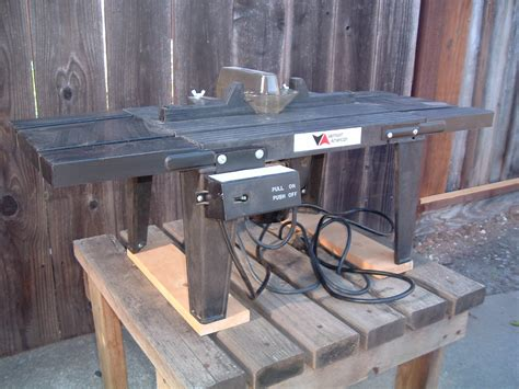 vermont american router table  switch box key