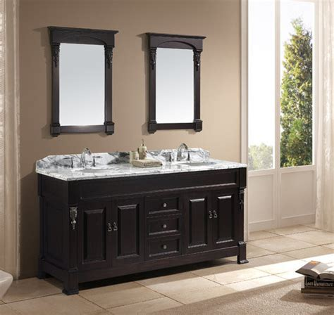 Traditional Bathroom Vanities And Sinks virtu usa huntshire 72 quot bathroom vanity traditional bathroom vanities and sink consoles