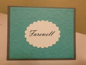 how to make a goodbye card eicats cards just another site