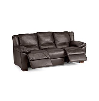 Natuzzi Editions 174 Genoa Brown Leather Reclining Sofa Natuzzi Leather Reclining Sofa