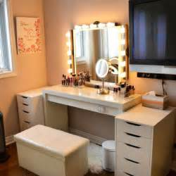Makeup Vanity Reddit My Finished Vanity From Ikea Thinking Of Getting A Ring