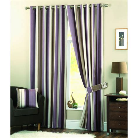 Dreams N Drapes Whitworth Heather Readymade Eyelet