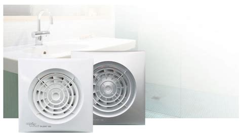 envirovent bathroom extractor fans envirovent sil100s silent 100mm standard white extractor