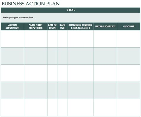 Template For Plan by Free Plan Templates Smartsheet
