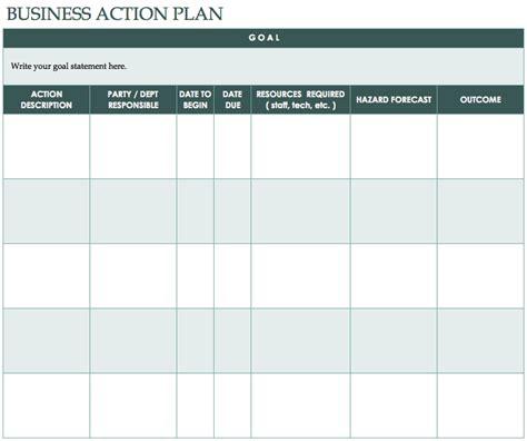template for plan of free plan templates smartsheet