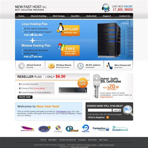 Free 10 Professional Html Website Templates Professional Website Templates