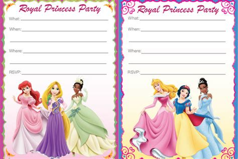 princess birthday invitations free 16 ideas for the princess brisbane