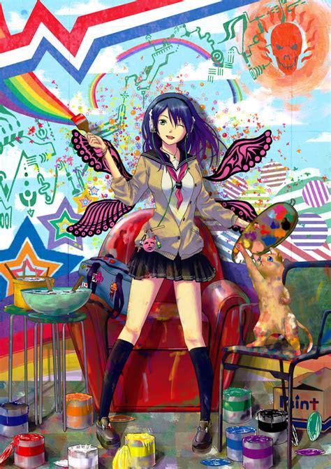 Colorful Anime Pics Random Photo 27412945 Fanpop Colorful Anime