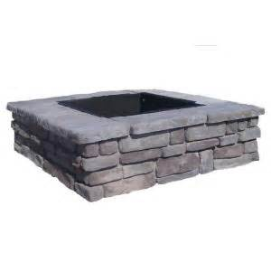 pit home depot fossill random gray square pit rgsfp