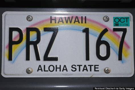 Vanity Plates Hawaii by The Best And Worst License Plates In The Country Huffpost