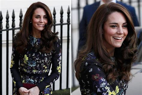 duchess kate shows off her new hairstyle picture the kate middleton shows off her new hairstyle as she joins