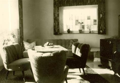 wohnung 40er jahre wohnzimmer inneneinrichtung chroniknet bilder