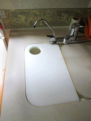 sink cover cutting board m 225 s de 25 ideas incre 237 bles sobre diy rv en pinterest