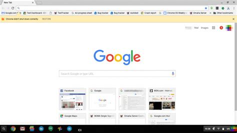 google testing new homepage design shows off flatter logo google chrome material design screenshots business insider