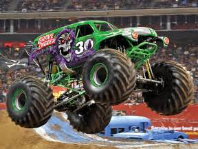 grave digger monster truck driver grave digger driver celebrates 30 years during a