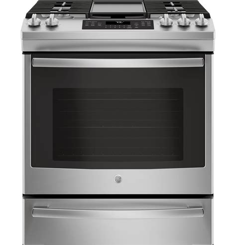 ge 194 174 30 quot slide in front convection gas range ge