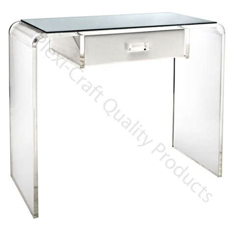 Perspex Computer Desk 7 Best Our Acrylic Desks Vanities Images On Pinterest Closet Office Computer Cart And Computers
