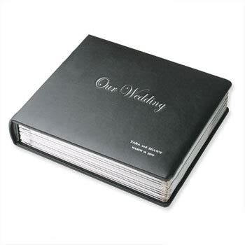 art leather wedding albums flora futura solid front