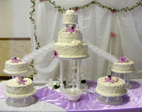 Fancy Wedding Cakes by Fancy Scroll Wedding Cake Pies