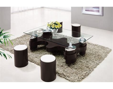 Table With Stools by Coffee Table With Stools Invites More Friends To Hang Out
