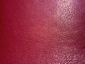 Leather And Cloth Faux Leather Fabric In Lambskin Pattern Half Yard