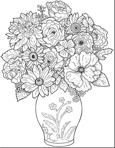 coloring books for adults trend trend printable flower coloring pages for adults 59 2007