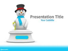 Snowman Powerpoint Template by Free Snowman Powerpoint Template Free Ppt