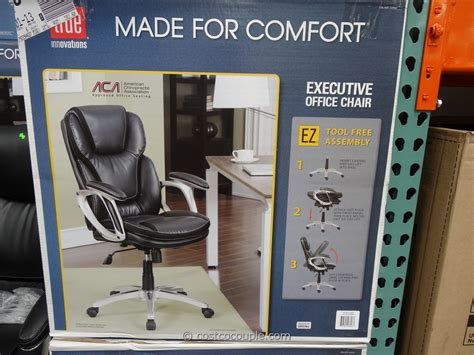 Costco True Innovations Chair by True Innovations Executive Office Chair