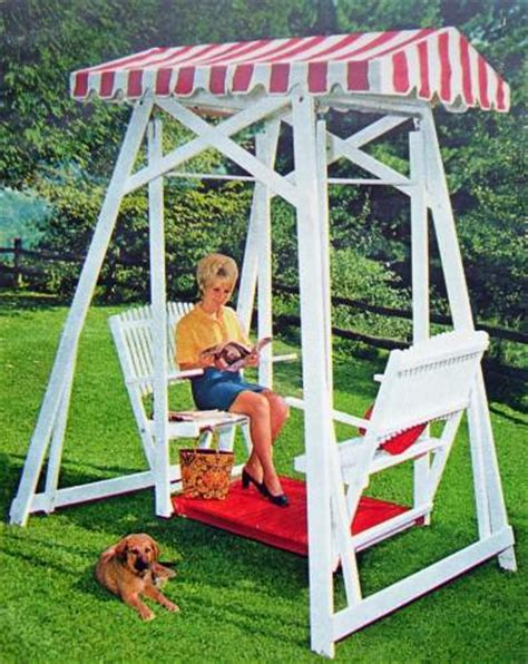 wooden glider swing plans build wood yard swing 2 bench glider w canopy diy plans