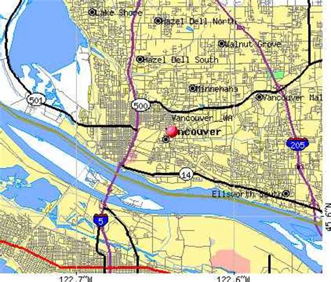 Address Lookup Vancouver Washingtonstatemap