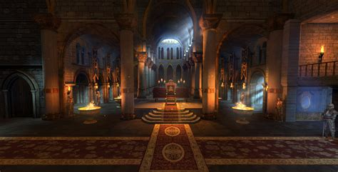 throne room castle throne room