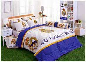 themes for bedrooms cool boys bedroom decoration with real madrid theme home