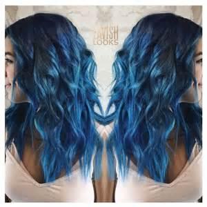 sapphire hair color my lavish looks on instagram used color intensity cobalt