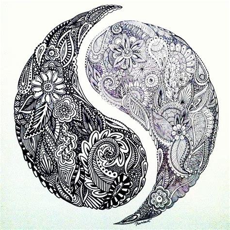henna tattoo designs yin yang henna inspired yin yang design