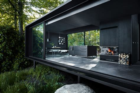 Denmark Interior Design vipp introduces a fully furnished metal prefabricated