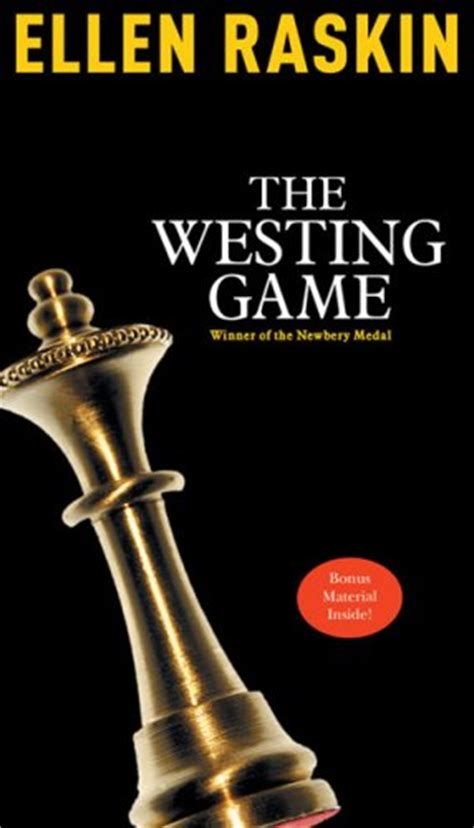 Novel The Westing sam westing cleverly disguised as a responsible
