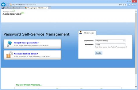 windows password reset self service idevnews manageengine s adselfservice plus delivers wide