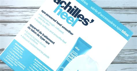 Review Bliss Eucalyptus Smoother by Bliss Achilles Heel Spa Powered Heel Smoother Review