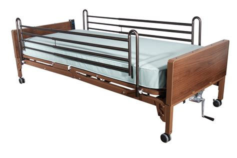Drive Full Length Hospital Bed Side Rails Drive Medical 15001abv