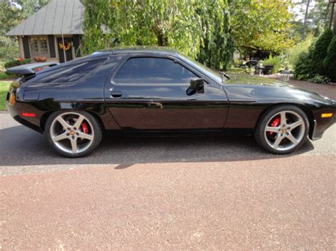 porsche 928 black 1981 porsche 928 black w chagne and brown interior