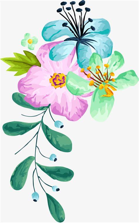 desenho de flores material de desenho de flores flor de vetor flor de