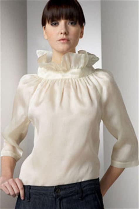 Loeffler Randall Ruffle Collar Blouse loeffler randall ruffle collar blouse who